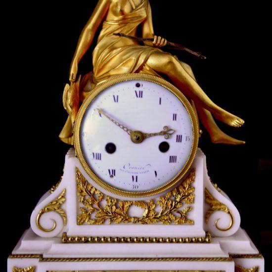 Horloge en or
