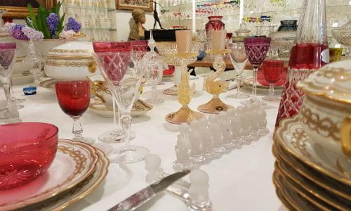 arts table porcelaine