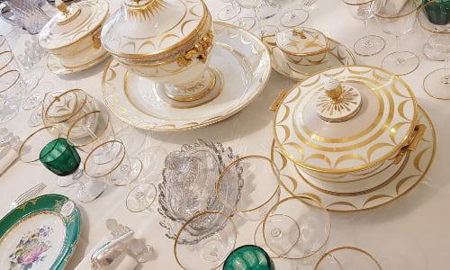 service porcelaine antiquaires