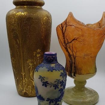signature vase daum
