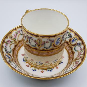 tasse porcelaine sevres