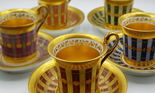tasses porcelaine antiquaires